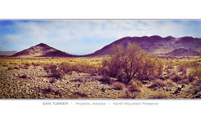 North Mountain Preserve Poster by Dan Turner