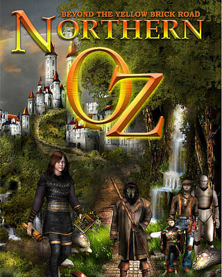 Northern Oz Cover Poster by Vjkelly Artwork