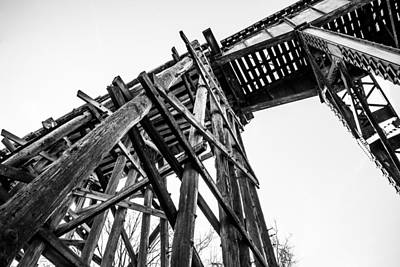 Northport Trestle Poster by Parker Cunningham