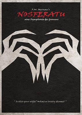 Nosferatu Poster by Ayse Deniz