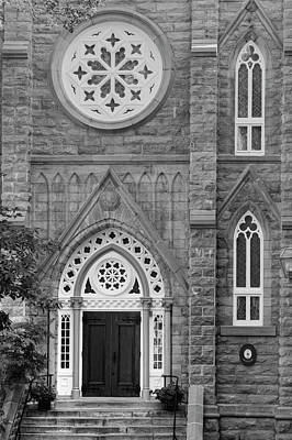 Notre Dame Of Sacred Heart  Quebec Poster by David Chapman