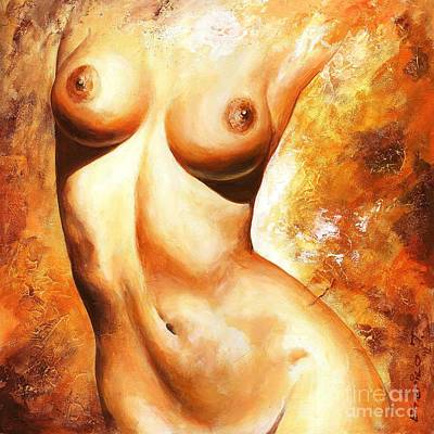Nude Details Poster by Emerico Imre Toth
