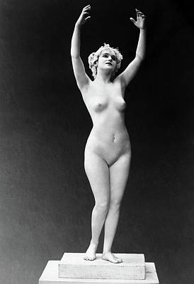 Nude Posing, 1921 Poster by Granger