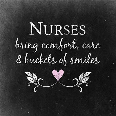 Nurses Bring Comfort Poster by Flo Karp