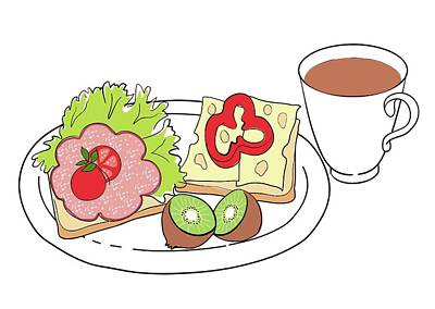Nutritious Breakfast Poster by Jeanette Engqvist