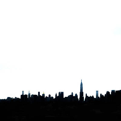 Nyc Silhouette Poster by Natasha Marco