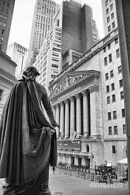 Nyse Plaza Poster by Stephen McCabe
