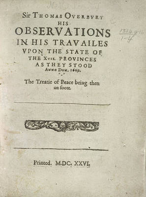Observations Poster by British Library