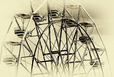 Oc Ferris Wheel Poster by John Rizzuto