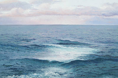 Ocean By Jan Matson Poster by Jan Matson