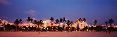 Ocean Drive South Beach Miami Beach Fl Poster by Panoramic Images