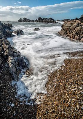 Ocean Rocks Poster by Adrian Evans