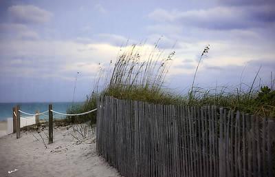 Ocean View 2 - Miami Beach - Florida Poster by Madeline Ellis