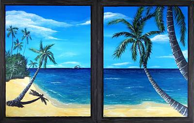 Ocean View Poster by Anastasiya Malakhova