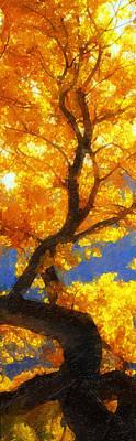 October Colors Poster by Ron Regalado