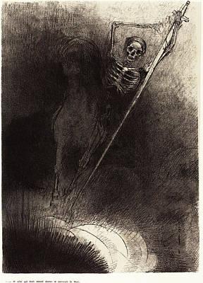 Odilon Redon French, 1840 - 1916, Et Celui Qui était Poster by Quint Lox