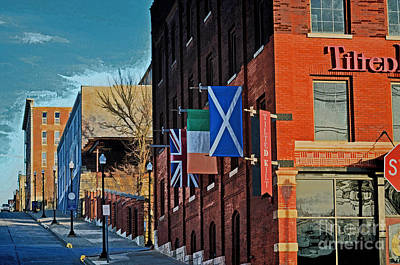 Off To The Tilted Kilt Poster by Luther   Fine Art