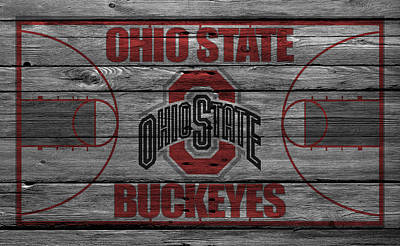 Ohio State Buckeyes Poster by Joe Hamilton