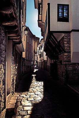 Ohrid Streets Poster by Ivan Vukelic