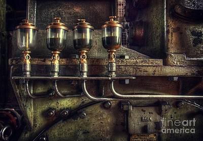 Oil Valves Poster by Carlos Caetano
