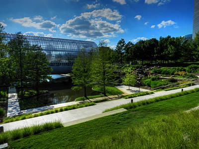 Oklahoma City - Myriad Botanical Gardens 001 Poster by Lance Vaughn
