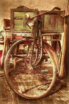 Ol' Rusty Antique Poster by Debra and Dave Vanderlaan