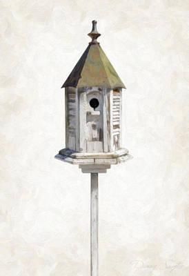 Old Birdhouse Poster by Danny Smythe