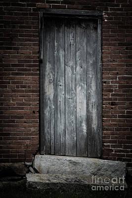 Old Blacksmith Shop Door Poster by Edward Fielding