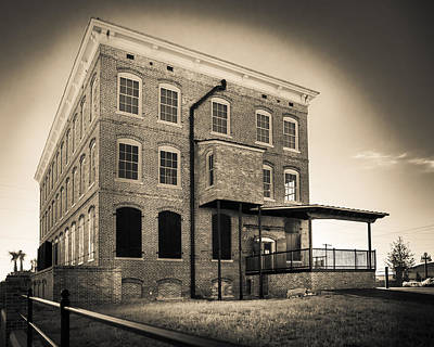Old Cigar Factory Poster by Ybor Photography