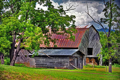 Old Country Barn Poster by Savannah Gibbs