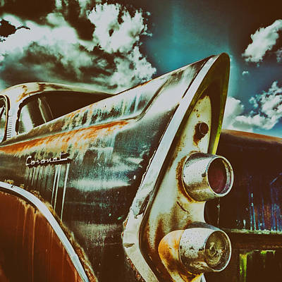 Old Dodge Coronet Poster by Mountain Dreams