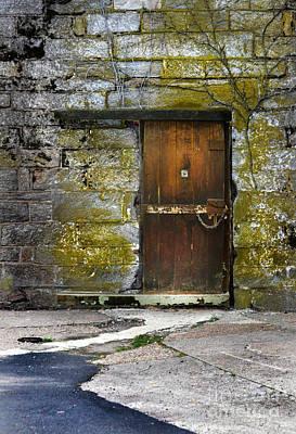 Old Door Poster by Jill Battaglia