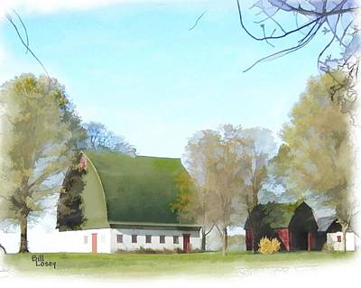 Old Dutch Barn Poster by Bill Losey