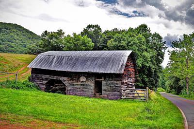 Old Farm Barn Poster by Savannah Gibbs