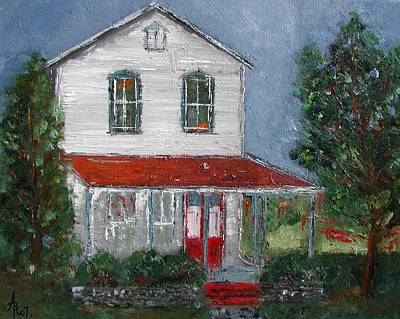 Old Farm House Poster by Anna Ruzsan