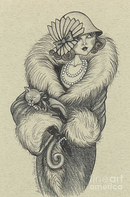 Old-fashioned Poster by Snezana Kragulj