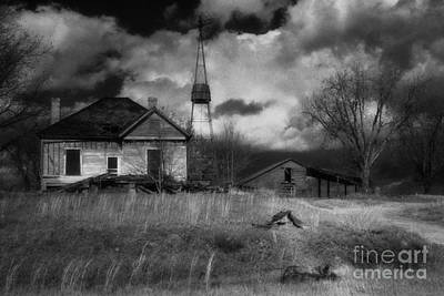 Old Georgia Farm Poster by Richard Rizzo