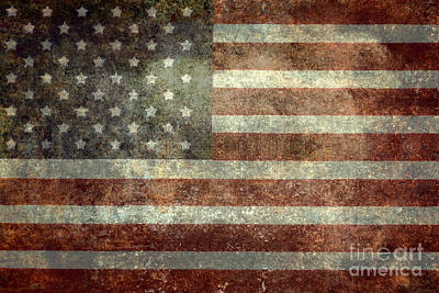 Old Glory Poster by Bruce Stanfield