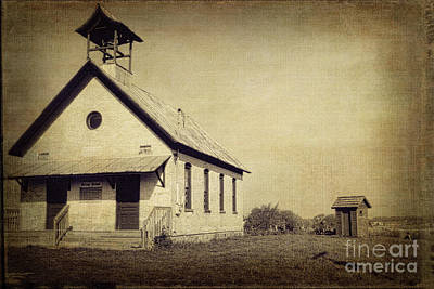 Old Michigan One Room School House Poster by Emily Kay