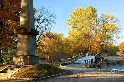 Old North Bridge Poster by Brian Jannsen