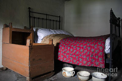 Old Rural Irish Bedroom Poster by RicardMN Photography