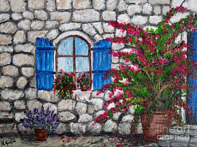 Old Stone House Poster by Nikolina Gorisek