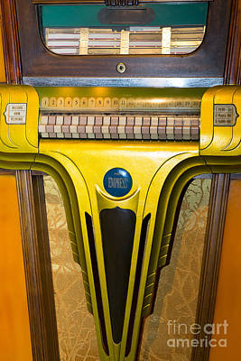Old Vintage Mills Empress Jukebox Dsc2789 Poster by Wingsdomain Art and Photography