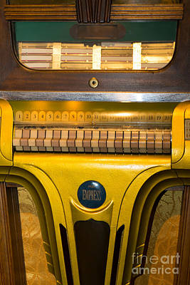 Old Vintage Mills Empress Jukebox Dsc2790 Poster by Wingsdomain Art and Photography