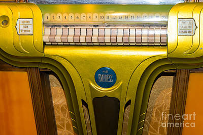 Old Vintage Mills Empress Jukebox Dsc2791 Poster by Wingsdomain Art and Photography