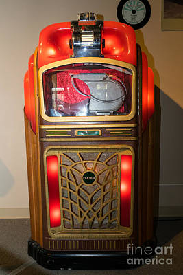Old Vintage Packard Pla-mor Jukebox Dsc2769 Poster by Wingsdomain Art and Photography