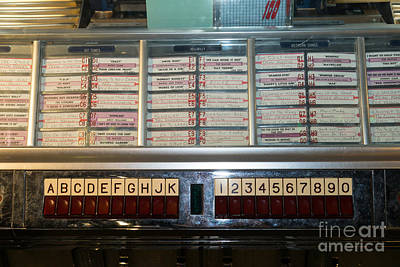 Old Vintage Seeburg Jukebox Dsc2753 Poster by Wingsdomain Art and Photography
