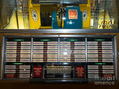Old Vintage Seeburg Jukebox Dsc2760 Poster by Wingsdomain Art and Photography