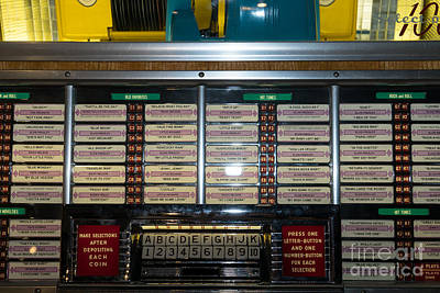 Old Vintage Seeburg Jukebox Dsc2761 Poster by Wingsdomain Art and Photography