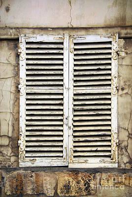 Old Window Poster by Elena Elisseeva